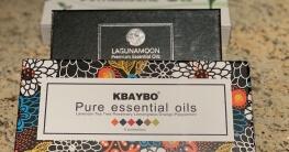 Sets verschiedener Aroma Öle