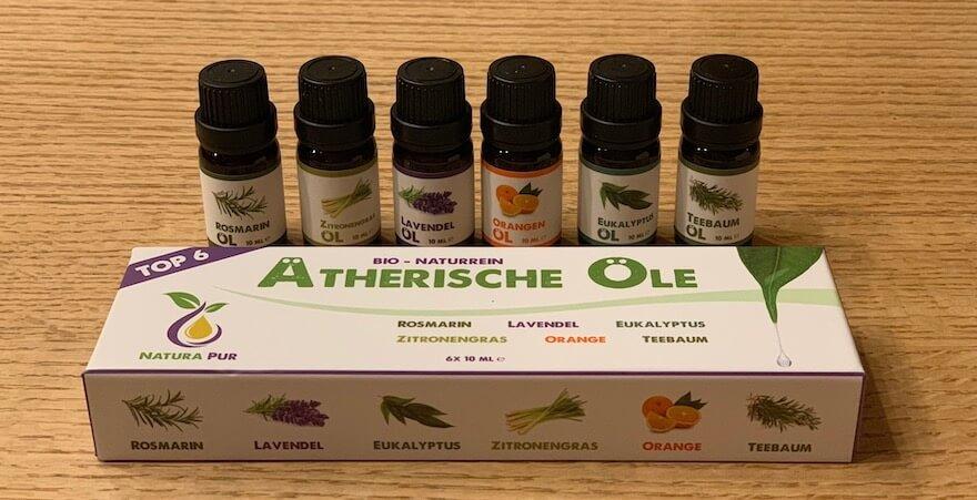 Aroma Öl Auswahl