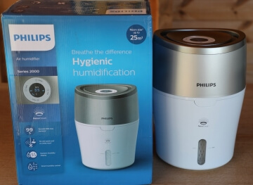 Philips HU4803 Luftbefeuchter Verpackung