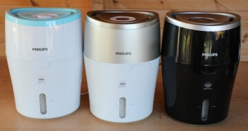 Philips HU4801 HU4803 HU4813 Luftbefeuchter im Vergleich