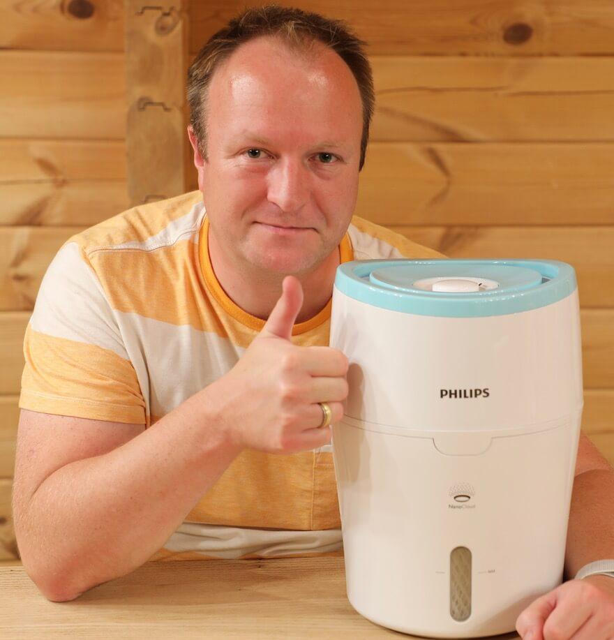 Philips HU4801 Luftbefeuchter Funktionen