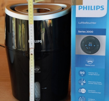 Philips HU4813 Luftbefeuchter Verpackung