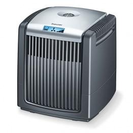 Beurer LW 220 Luftwäscher und Luftbefeuchter in einem Gerät / sehr energiesparender Luftreiniger mit maximal 7 Watt Leistung / Luftwäsche für Räume bis 40 m² geeignet / einfach zu reinigen / schwarz - 1
