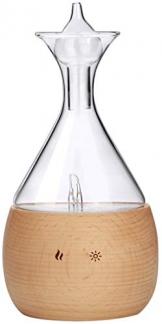 Aromatherapie Vernebler aus Buchenholz und Glas