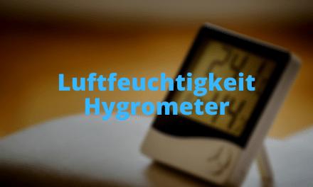 Luftfeuchtigkeit Hygrometer
