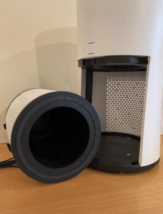Luftreiniger mit Aktivkohlefilter