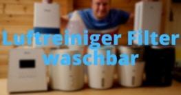 Luftreiniger Filter waschbar